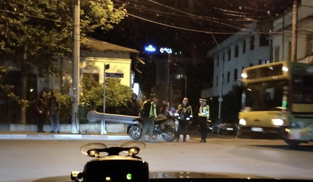 UPDATE: VICTIMA DE PE MOTOCICLETĂ ESTE O FATĂ DE 15 ANI