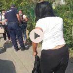 (VIDEO) INFRACȚIUNE ÎN FLAGRANT, SURPRINSĂ  DE UN JANDARM ARGEȘEAN