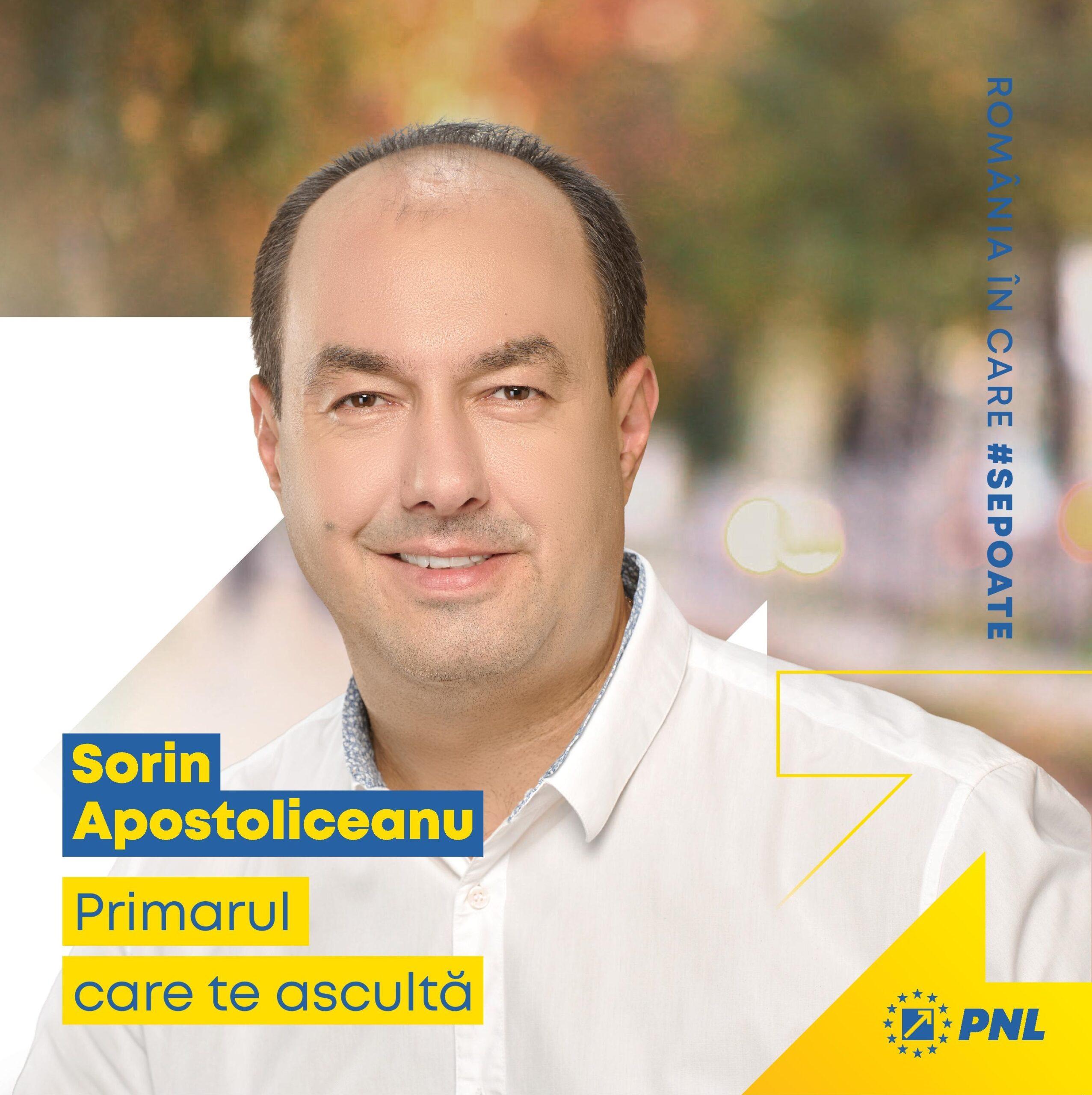 Sorin Apostoliceanu PNL Campanie Electorala