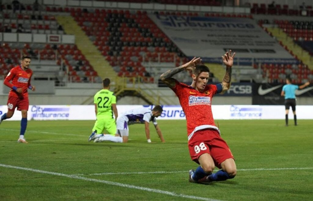 FC ARGEȘ A FOST ÎNVINSĂ DE FCSB