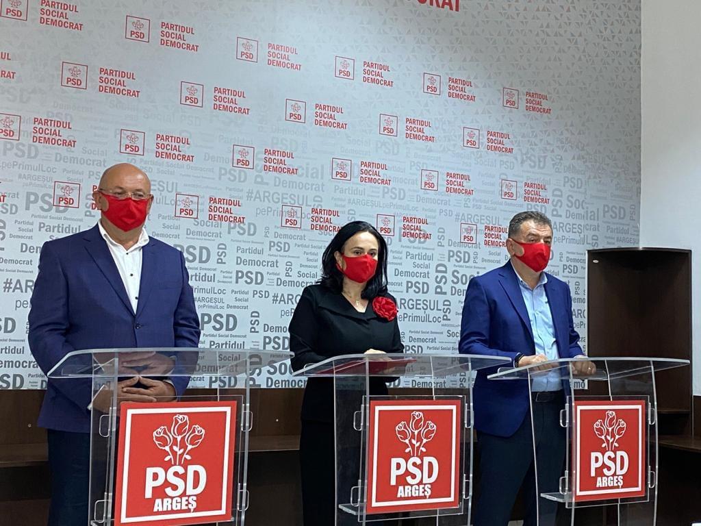 PSD ARGEȘ A OBȚINUT PESTE 70 DE MANDATE DE PRIMAR