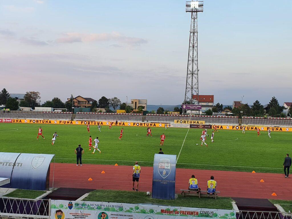 FC ARGEȘ A OBȚINUT PRIMUL PUNCT ÎN LIGA I