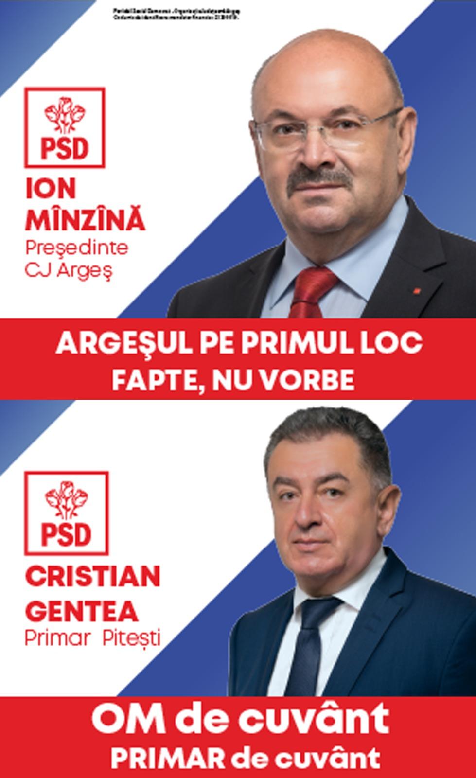 PSD Gentea&Manzana Campanie Electorala