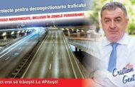 """CRISTIAN GENTEA: """"Decongestionarea traficului în Piteşti, printre principalele mele priorităţi"""""""