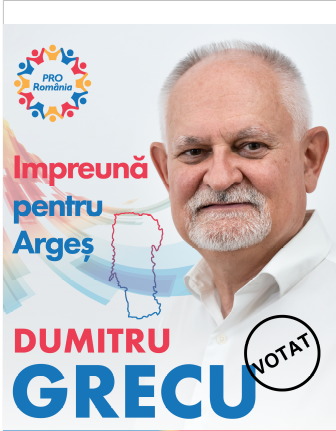 Grecu Campanie Electorala PRO Romania