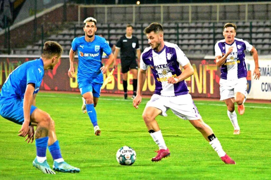 FC ARGEȘ A OBȚINUT PRIMUL SUCCES ÎN LIGA I