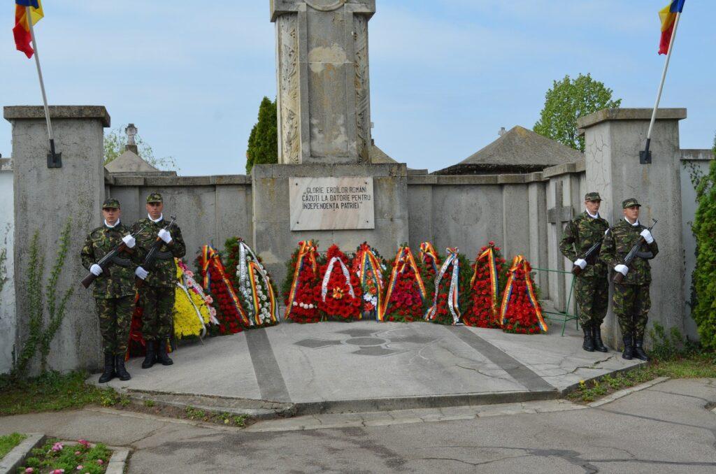 DE ZIUA ARMATEI -CEREMONIE MILITARĂ RESTRÂNSĂ