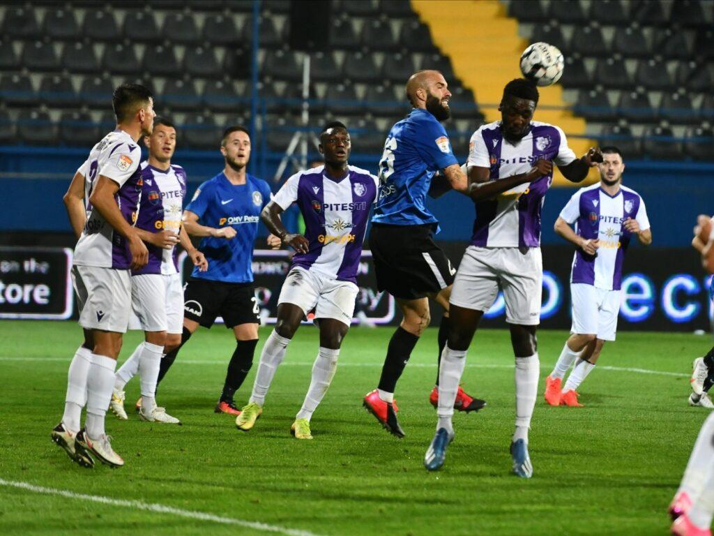 FC ARGEȘ - VIITORUL PANDURII TÂRGU-JIU, ÎN CUPA ROMÂNIEI