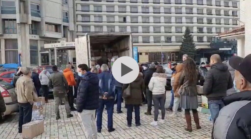 VIDEO: MOȘ CRĂCIUN A VENIT DIN ALCALA HENARES LA PITEȘTI