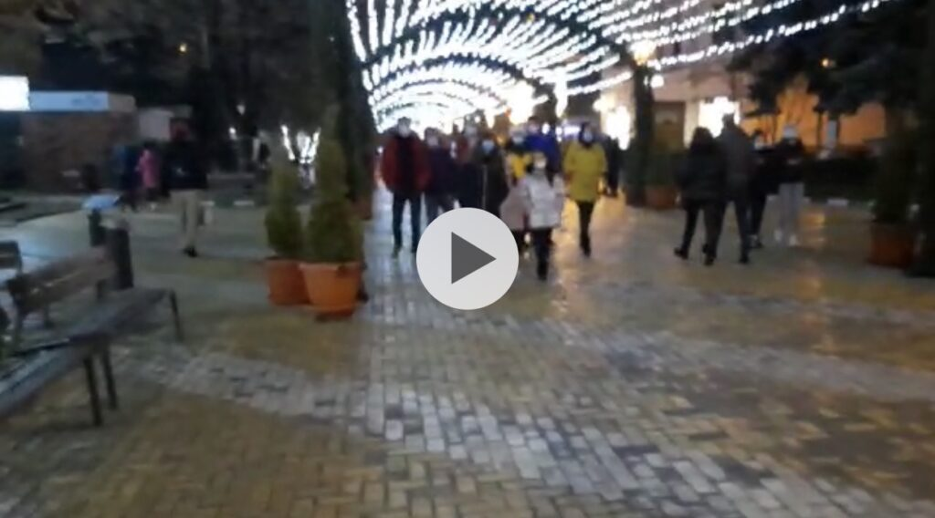VIDEO: PITEȘTENII AU LUAT CU ASALT CENTRUL URBEI