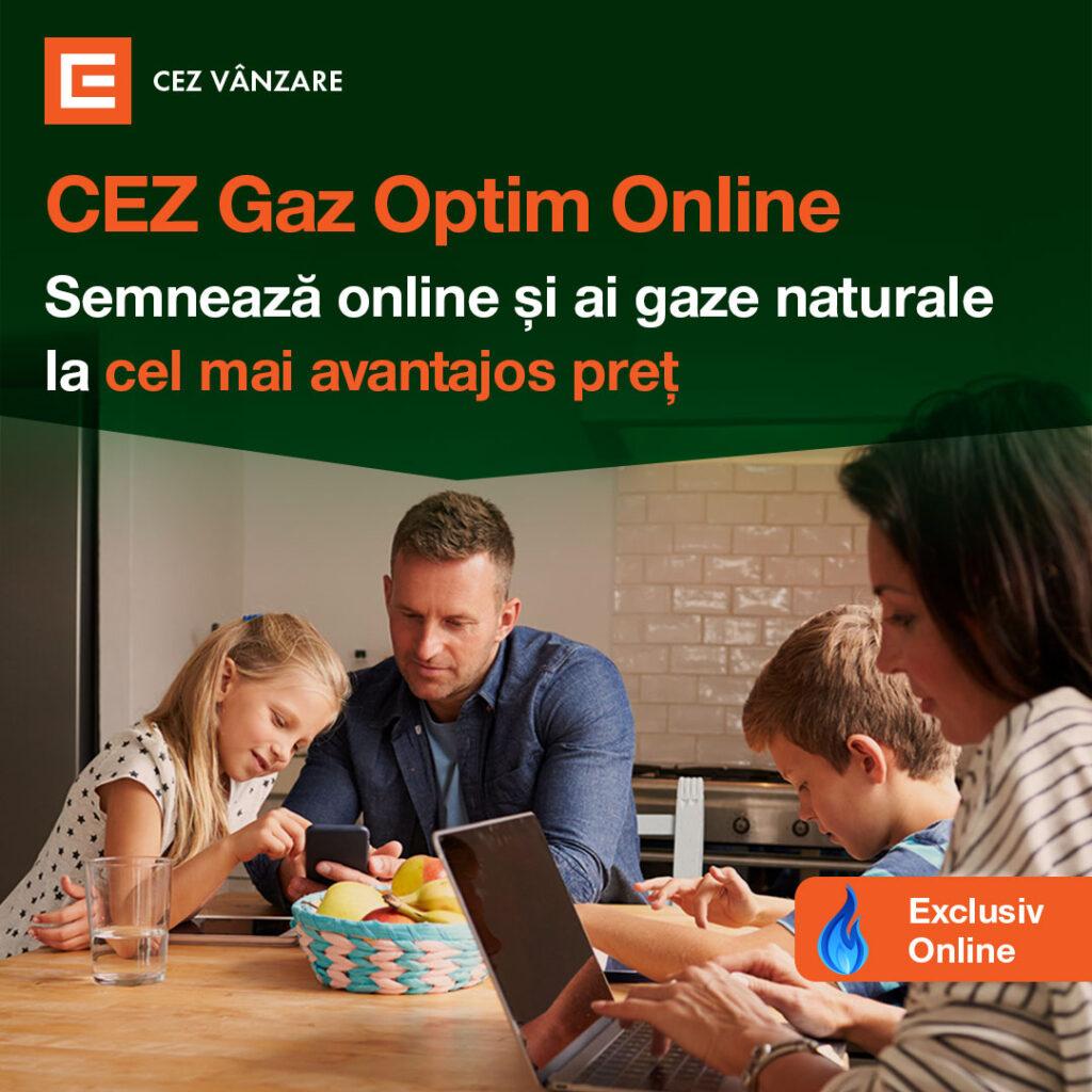 CEZ Vânzare încurajează consumatorii să semneze contractele de energie electrică și gaze naturale exclusiv #online