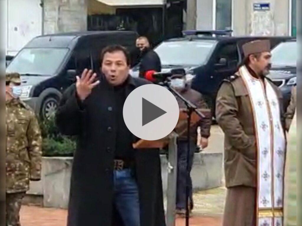 VIDEO: DISCURSUL EXPLOZIV AL UNUI REVOLUȚIONAR ÎN PIAȚA V. MILEA