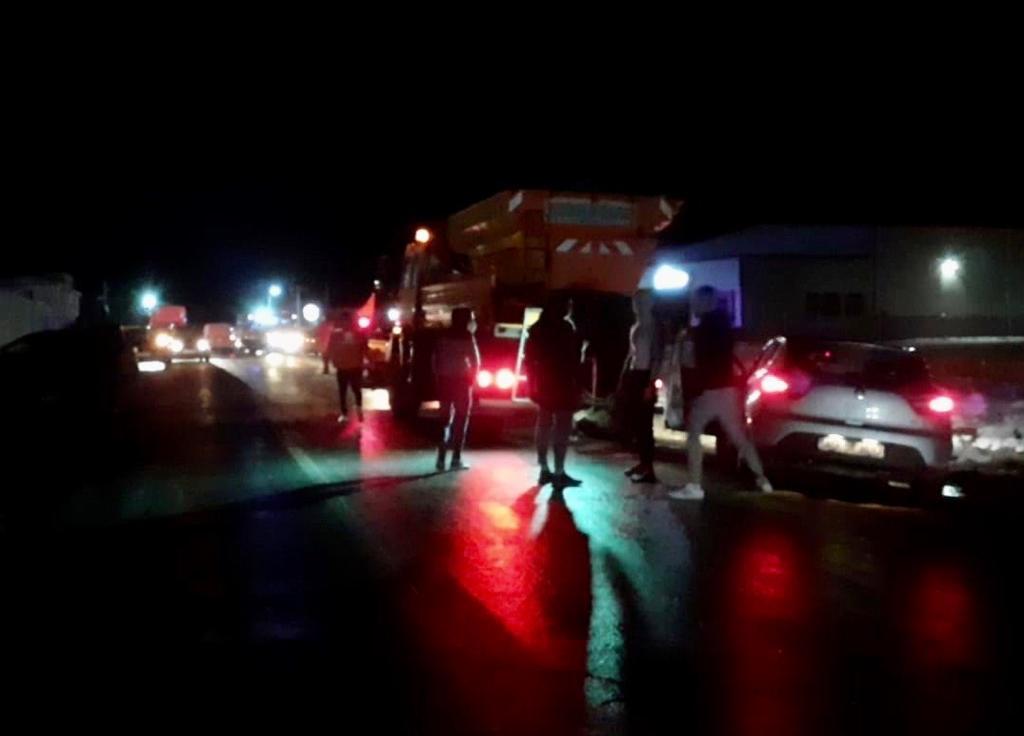VIDEO UPDATE: PERSOANĂ RĂNITĂ ÎN ACCIDENTUL DE LA ALBOTA