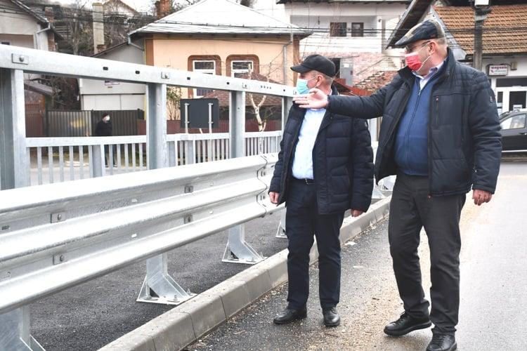 PODUL VALEA MARE-ȘTEFĂNEȘTI, APROAPE GATA