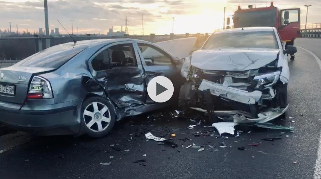 (VIDEO) UPDATE: ACCIDENT FRONTAL CU TREI VICTIME PE A1