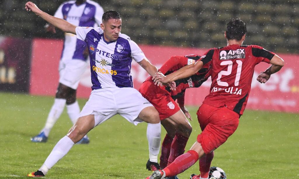 FC ARGEȘ BATE ASTRA ÎN DEPLASARE