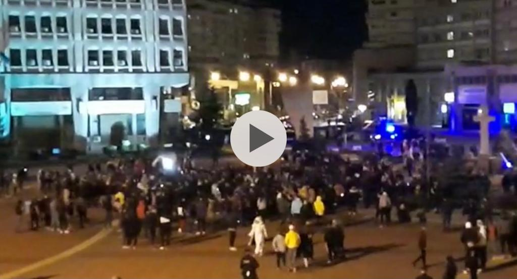 VIDEO: ACUM! PROTESTE VIOLENTE ÎN PITEȘTI