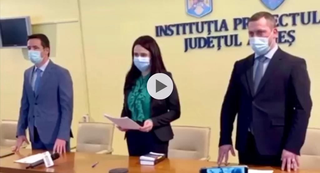 VIDEO | EMILIA MATEESCU ȘI-A DEPUS JURĂMÂNTUL