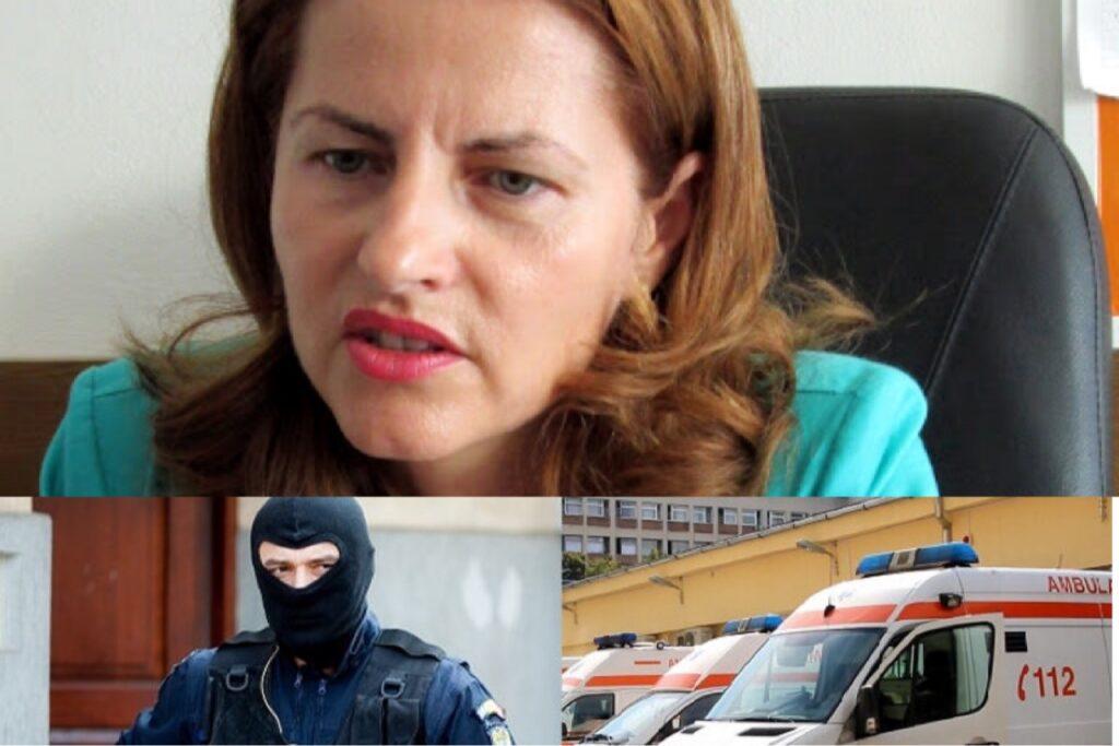 ȘEFA AMBULANȚEI ARGEȘ, REACȚIE DUPĂ DESCINDERILE POLIȚIEI