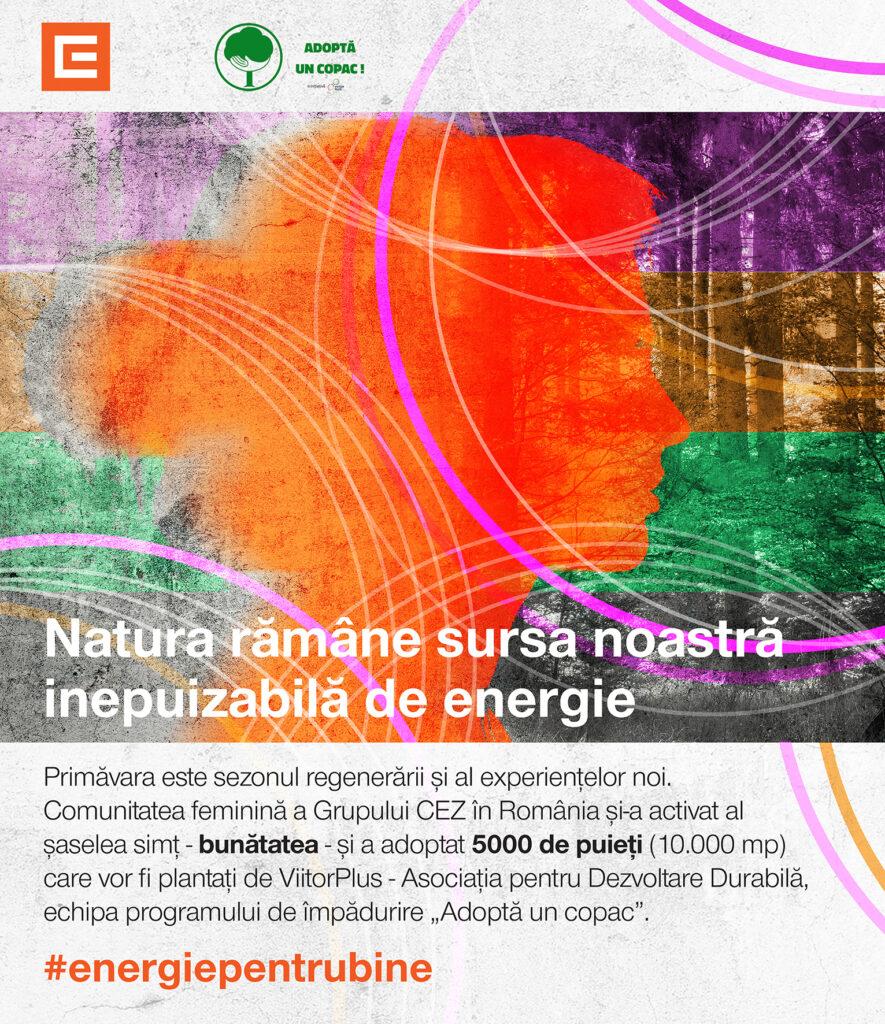 Faptele bune prind rădăcini: CEZ plantează 10.000 mp de pădure în comunitatea sa