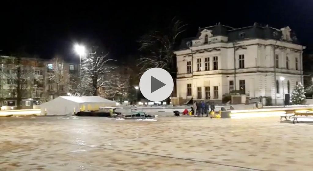VIDEO: PIAȚA PRIMĂRIEI PITEȘTI E GATA