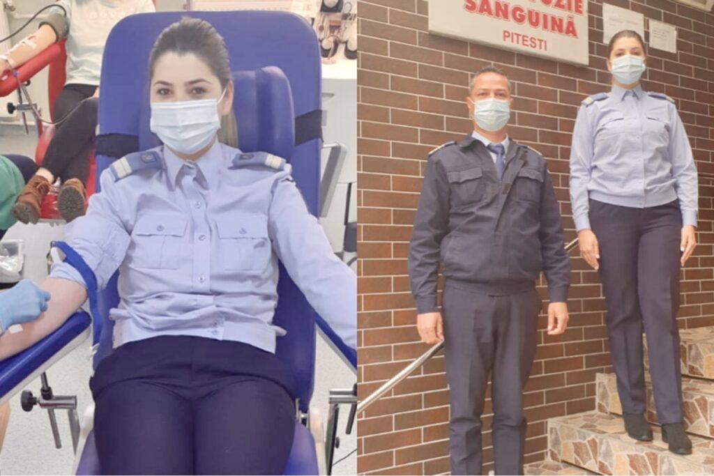 Jandarmii argeșeni, campanie pentru salvarea de vieți