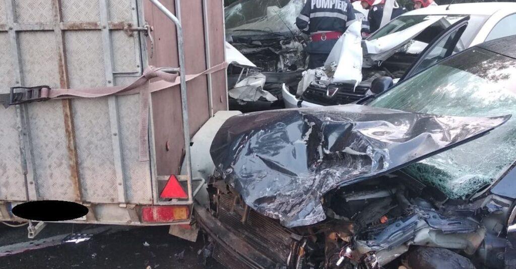 ACCIDENT CU VICTIMĂ ACUM, ÎN ARGEȘ
