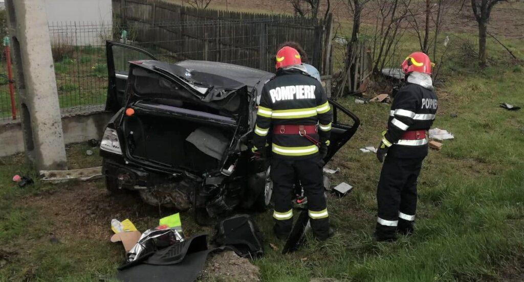 ACUM: GRAV ACCIDENT RUTIER LA MORĂREȘTI, 3 VICTIME