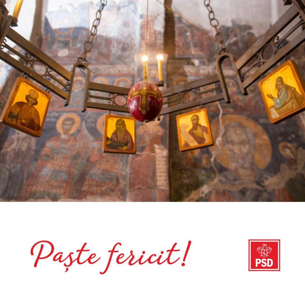 PSD vă urează un Paşte fericit!