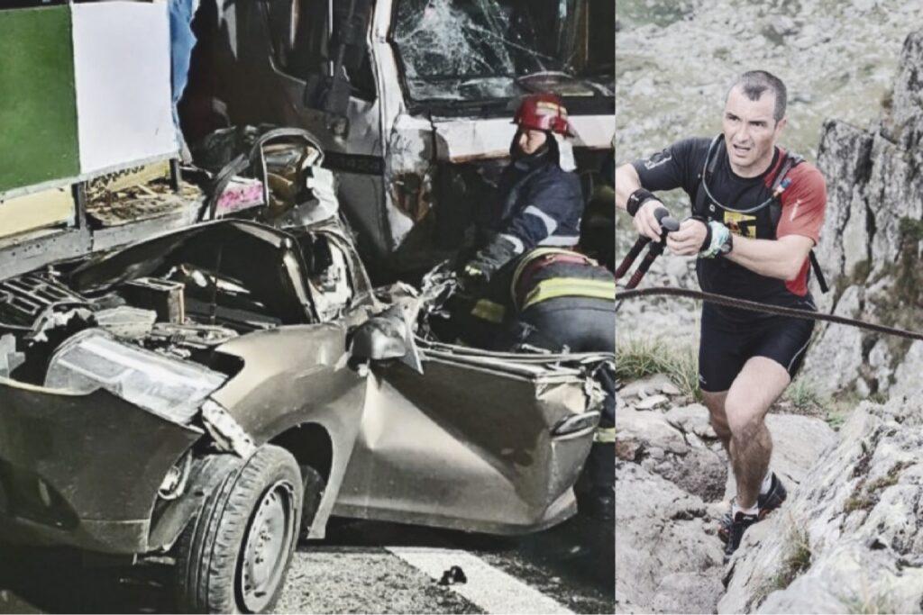 Accident teribil pe A1. Un salvamontist argeşean a murit