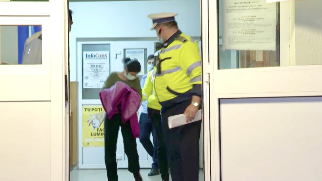 Şoferiţa fugară din Argeș, în arest la domiciliu