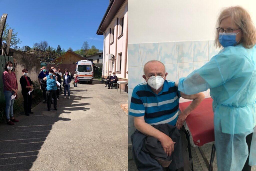 La ambulatoriul Spitalului Militar, peste 10.000 de vaccinări anti-Covid