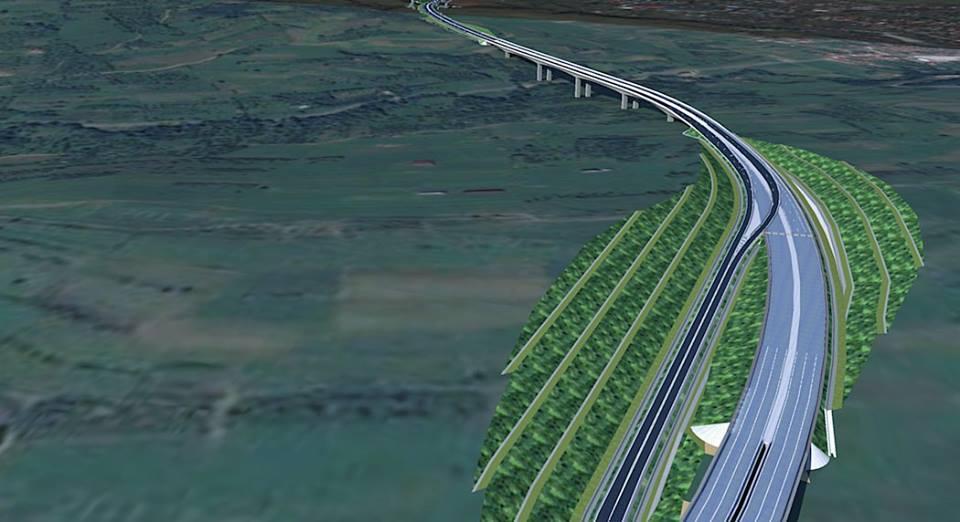 Pe unde va trece tronsonul 3 al autostrăzii spre Sibiu?