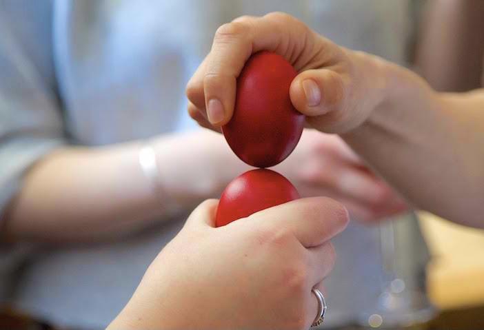 Ouă roșii în meniul de la Spitalul Județean Pitești