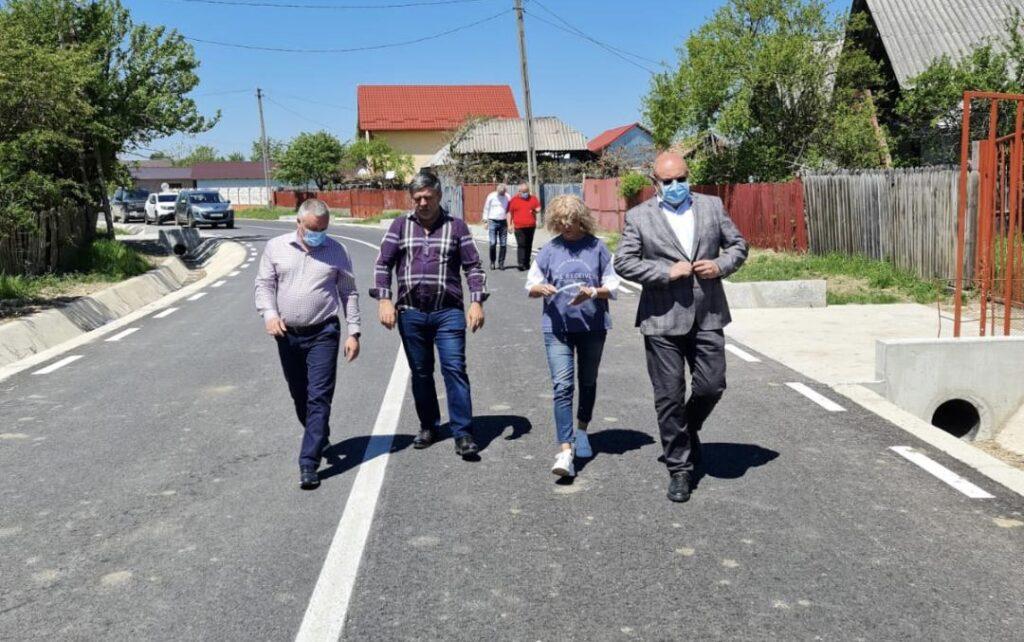 Drumul județean Morărești - Cuca - Ciomăgești, asfaltat pe 3,2 km