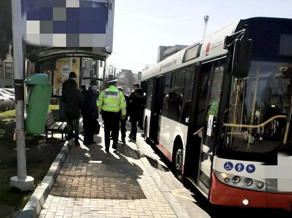 A agresat sexual o fetiță de 10 ani într-un autobuz din Pitești