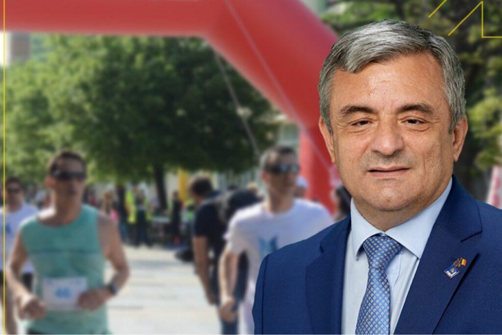 Adrian Miuţescu s-a implicat pentru desfăşurarea unui maraton la Piteşti