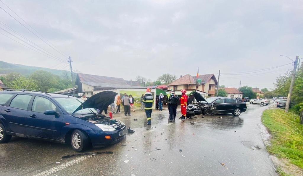 Accident cu șase răniți la Bălilești