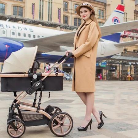 7 avantaje ale cărucioarelor pentru copii orientate în față