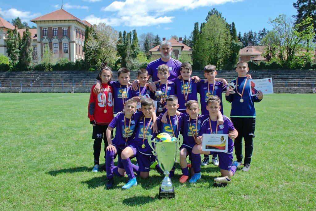 Juniorii de la ACS Viitorul Argeş sunt cei mai buni din ţară!