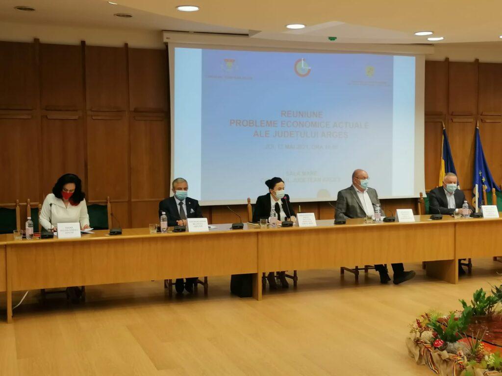 ACUM: Economia județului sub lupa autorităților