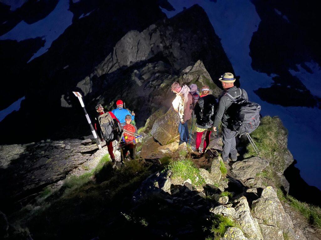 Patru turişti cehi, salvaţi de pe munte în Argeș