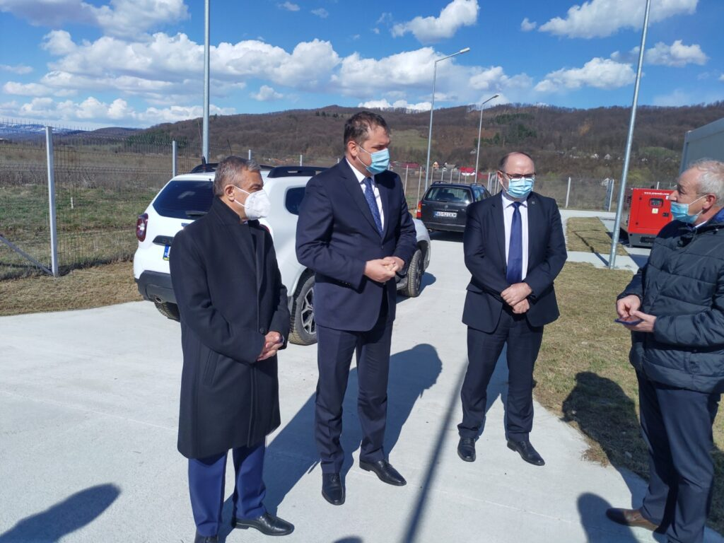 Adrian Miuțescu și Dănuț Bica, întâlnire cu Ministrul Dezvoltării