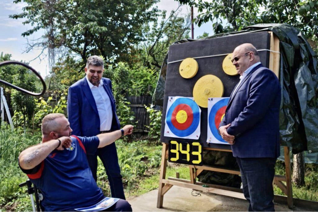 Sportivul Ionuț Butoi, susținut de Consiliul Județean Argeș