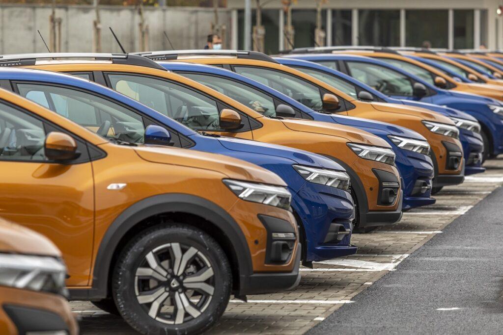Dacia, lider la înmatriculări