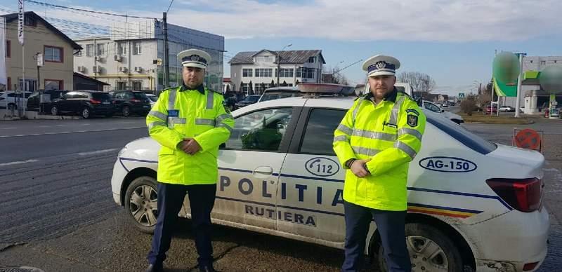Poliţiştii rutieri au împânzit şoselele judeţului. Sute de amenzi