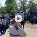 (Video) Acum! Protest spontan pe platforma Dacia