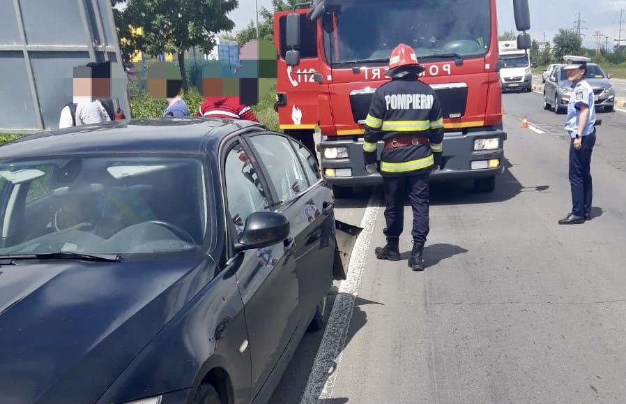 Accident cu victime în Argeș. Trafic îngreunat!