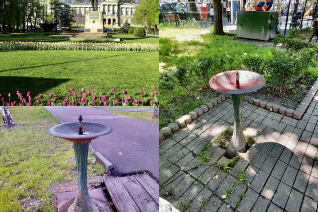 În parc mulți băieți și fete, dar…copii mor de sete!