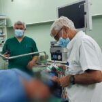 """Pacient cu hernie, """"reparat"""" laparoscopic la Spitalul Judeţean"""